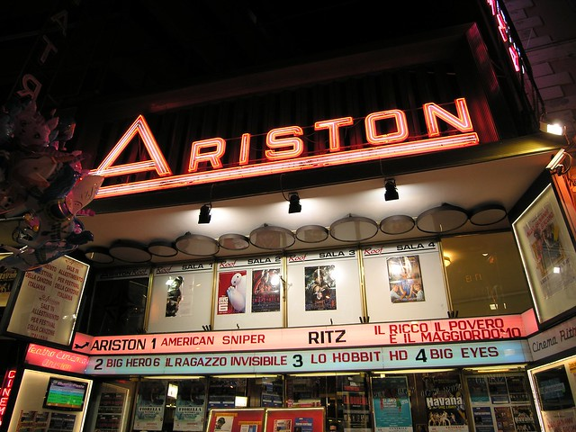 Sanremo, teatro Ariston