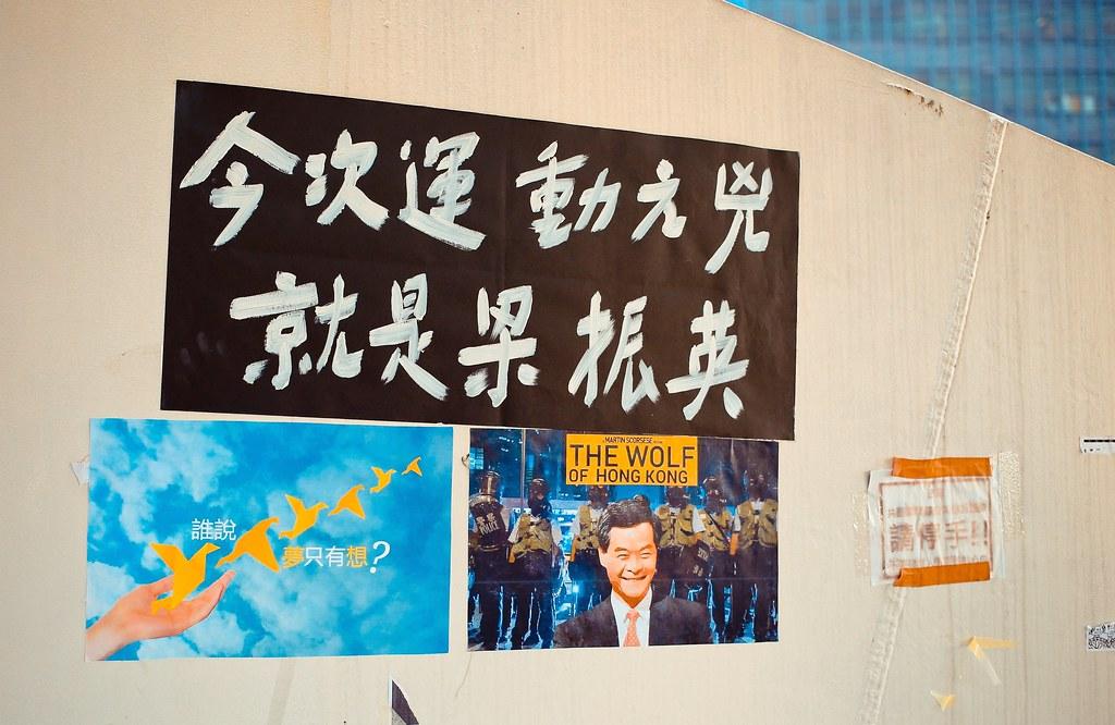 Umbrella movement - 0994