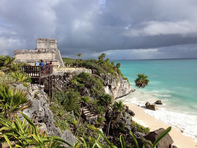 Tulum ruins and beach