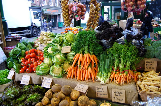 Ted's Veg at Borough Market