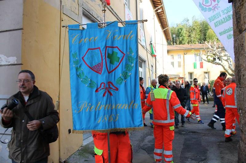 I primi 150 della Croce Verde Pietrasanta