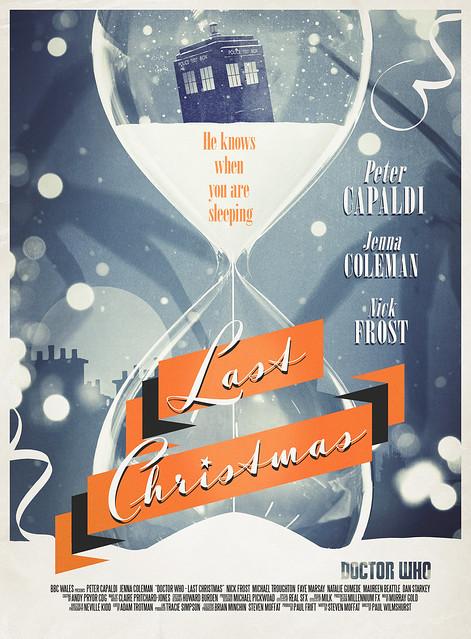 Doctor Who: Last Christmas Retro Poster