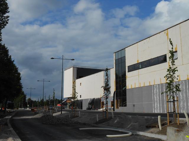Hämeenlinnan moottoritiekate ja Goodman-kauppakeskus: Työmaatilanne 23.6.2013 - kuva 8