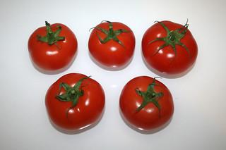 04 - Zutat Tomaten / Ingredient tomatoes