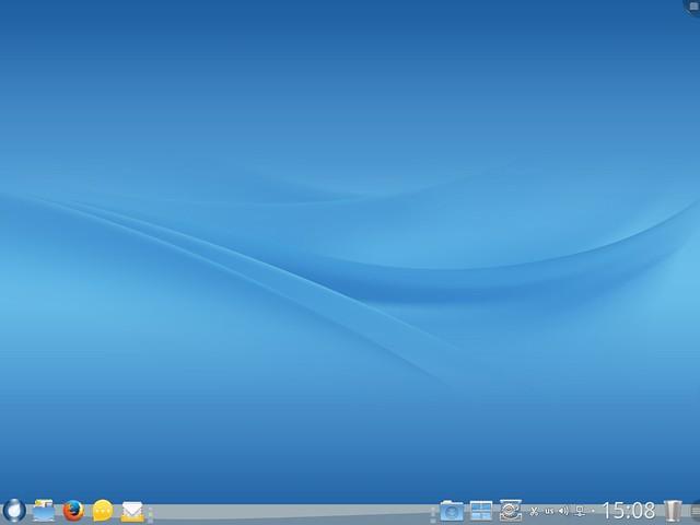Рабочий стол ROSA Desktop Fresh R5