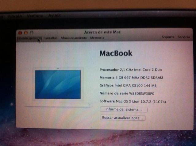 [VENDIDO] Macbook Blanco mediados 2008 16128719512_c532098efa_z