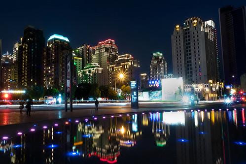 longexposure skyline night reflections landscape nightscape taiwan olympus taichung 夜景 台中 em1 國家歌劇院 1240mmf28 nationaltaichungtheater