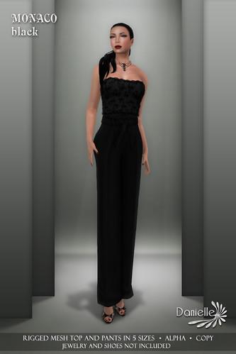 DANIELLE Monaco Black