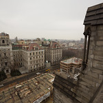 Looking north from the roof, Cathedral of Saint John the Divine
