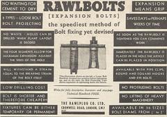 Rawplug Company Advert