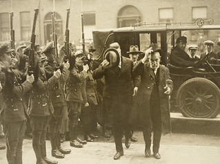 John Devoy arriving at government buildings to meet President Cosgrave