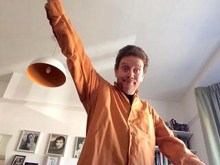 Chris Conway - big daggy shirt