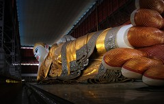 Most graceful Giant Reclining Buddha statue