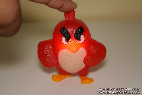 Angry Birds toys at Mcdonalds Happy Meal