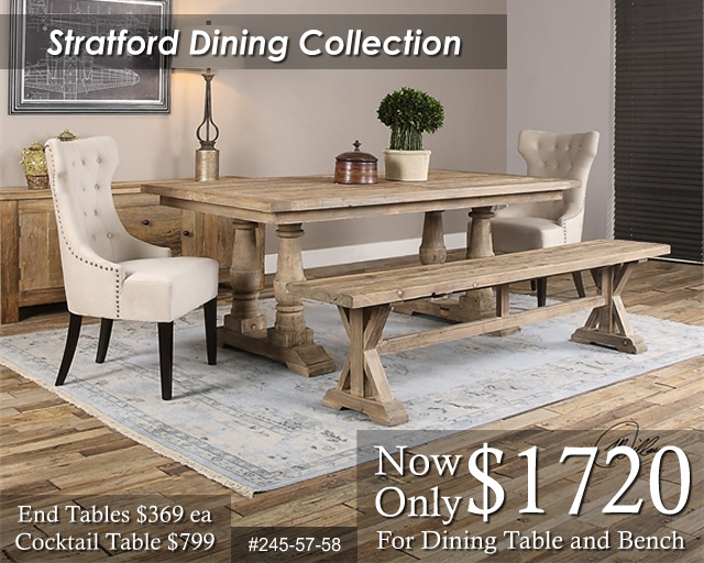 24558 Stratford Dining Collection