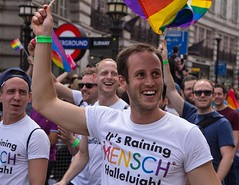 It's Raining Mensch, London LGBT Pride Parade, 25 June 2016