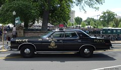 US Capitol Police - 1973 Ford LTD - restored - (6)