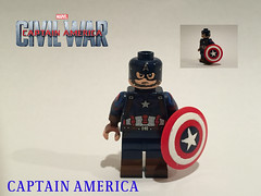 Captain America Upgraded figure