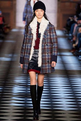 Put a Beanie On It! Beanie Hat Fashion Trend for Fall Winter 2013. Tommy Hilfiger Fall Winter 2013. #NYFW #fashion #trends