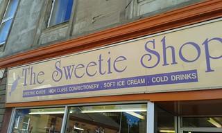 Sweeties in Girvan
