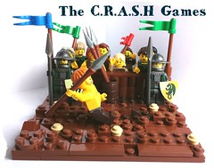 The CRASH Games - Spear Throwing