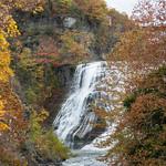 Ithaca Falls, Fall