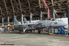 159848 215 - 208 - Private - Grumman F-14A Tomcat - Tillamook Air Museum - Tillamook, Oregon - 131025 - Steven Gray - IMG_7981