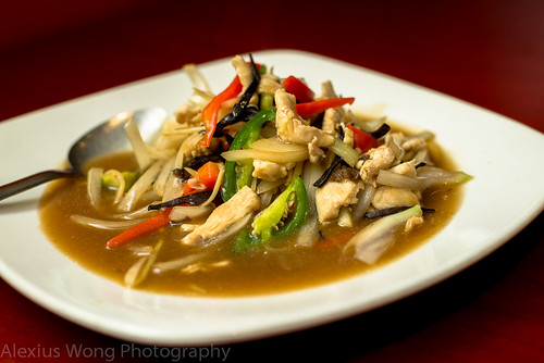 Pad Khing - Chicken Ginger in Bean Sauce