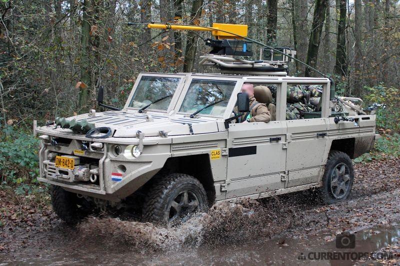 Dutch Sofltg Unit Scorpion On Patrol In Mali 2015