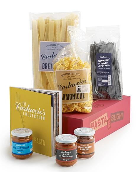 Win a Pasta e Sughi Christmas Gift Box from Carluccio's
