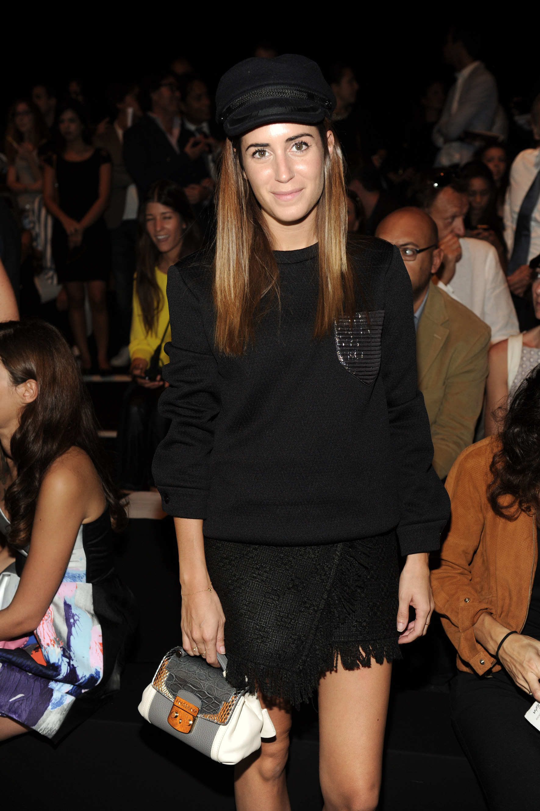 583df3a3e607 Look of the Day.384  frow   Trussardi MFW