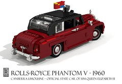 Rolls-Royce Phantom V Canberra Limousine (1960) - Official State Car of HM Queen Elizabeth II