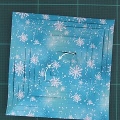 วิธีทำดาวกระดาษรุปเกล็ดหิมะ สำหรับแต่งบ้าน ช่วงเทศกาลต่างๆ (Paper Snowflake DIY) 006