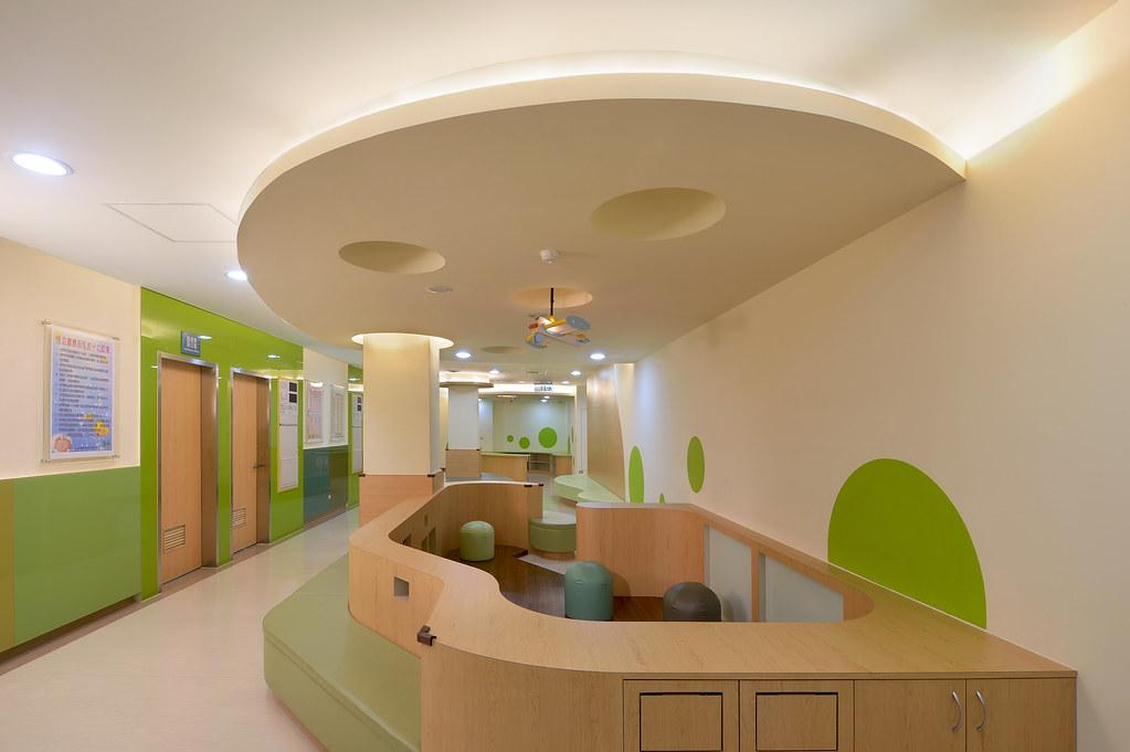 CTLU_盧俊廷建築師事務所 - 臺北市立聯合醫院陽明院區 - Photo 05 兒童遊戲區