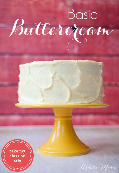 basic buttercream online class