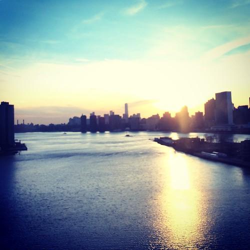 Sunset over Manhattan 02Jan2015