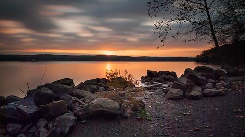 sunrise hudsonriver esopusmeadows