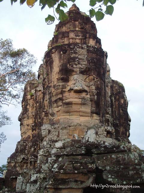 Вечные лица Камбоджи
