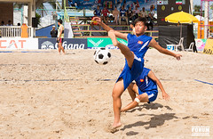 ball over a net games(0.0), volleyball(0.0), rugby union(0.0), beach handball(0.0), beach volleyball(0.0), sports(1.0), beach soccer(1.0), team sport(1.0), football(1.0), ball game(1.0),