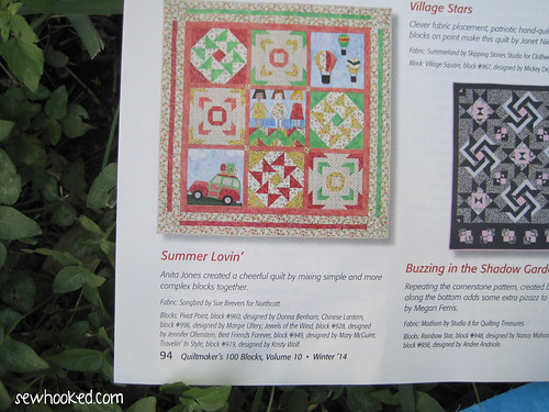 Jewels of the Wind, Quiltmaker 100 Blocks, Vol. 10
