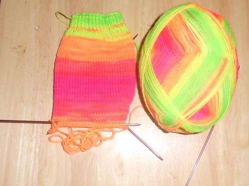 Bright Striped Socks