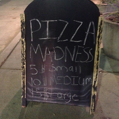 Pizza MADNESS!