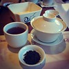 #lycheeblacktea at #gardencity #hotpot for #dimsum