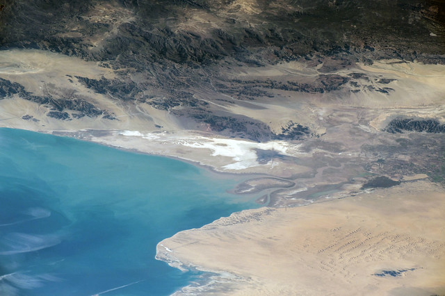 The dry Colorado River delta – Aesthetic Ecosystems