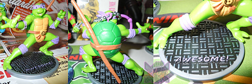 MONOGRAM INTERNATIONAL :: TEENAGE MUTANT NINJA TURTLES; COLLECTIBLE FIGURINES xi / DONATELLO (( 2014 ))