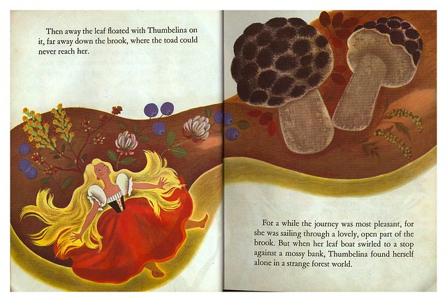 010-Tenggren's Thumbelina-Illustrated Gustaf Tenggren-Copyright 1953-via goldengems.blogspot