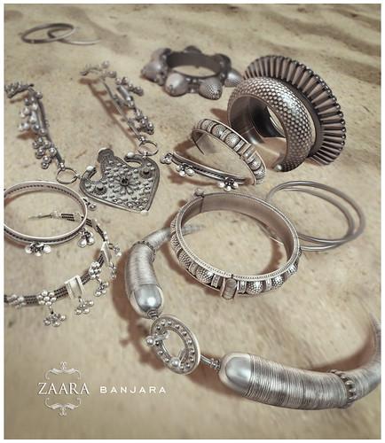 Zaara : Banjara Silver for C88