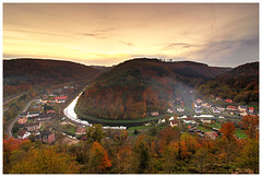 Lutzelbourg vu du château - Photo of Wintersbourg