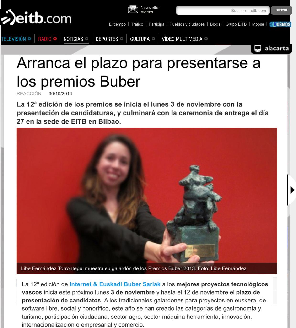 reharq_noticia eitb_promocion premio buber 2014