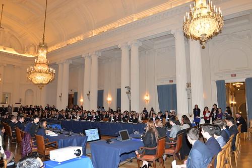Se inauguró el XXXIII Modelo de Asamblea General de la OEA para estudiantes de secundaria